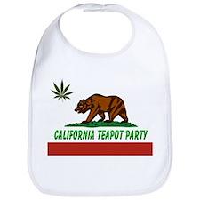 California Teapot Party Bib