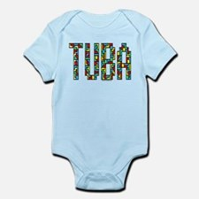 Tuba Color Blocks Infant Bodysuit