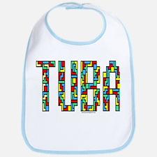 Tuba Color Blocks Bib
