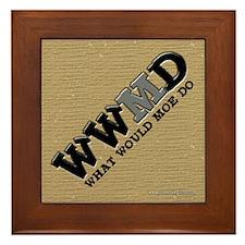 WWMD... Framed Tile