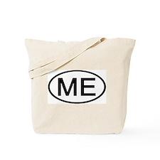 Maine - ME - US Oval Tote Bag