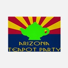 Arizona Teapot Party Rectangle Magnet