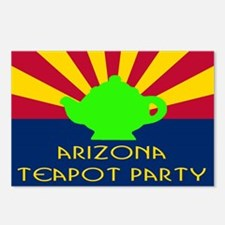 Arizona Teapot Party Postcards (Package of 8)