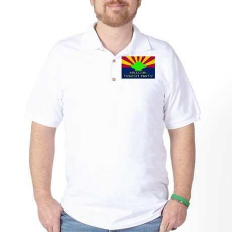 Arizona Teapot Party Golf Shirt