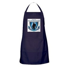 Cute Support the troops Apron (dark)