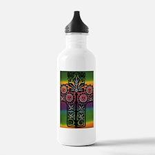 Unique Rainbow peace Water Bottle