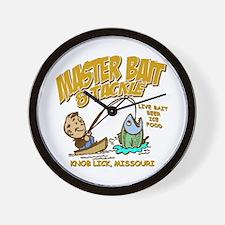 Master Bait Tackle Wall Clock