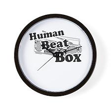 Human Beat Box Wall Clock