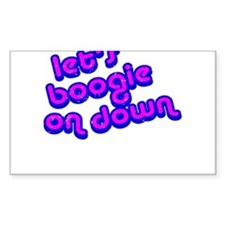 Boogie Down Decal
