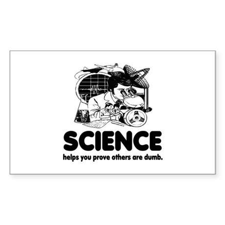 Science Sticker (Rectangle)