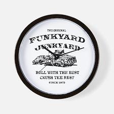 Funkyard Junkyard Wall Clock