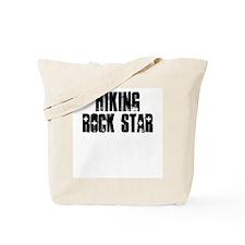 Hiking Rock Star Tote Bag