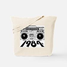 1984 BoomBox Tote Bag