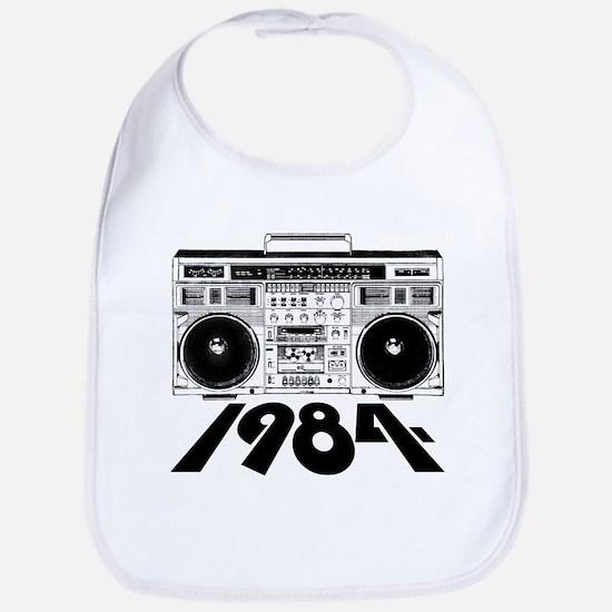 1984 BoomBox Bib