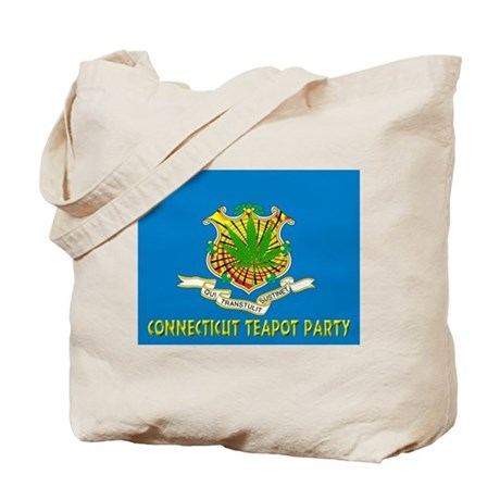 Connecticut Teapot Party Tote Bag