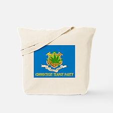 Connecticut Teapot Party Tote Bag