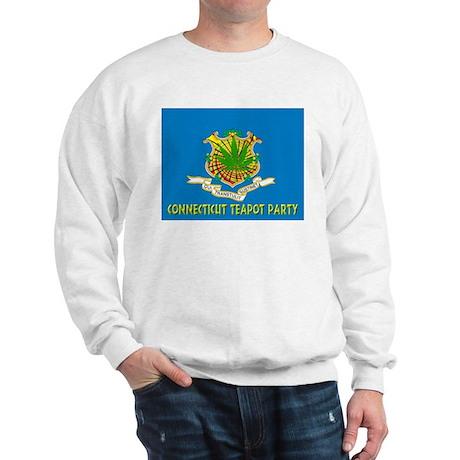 Connecticut Teapot Party Sweatshirt