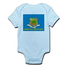 Connecticut Teapot Party Infant Bodysuit