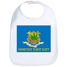 Connecticut Teapot Party Bib