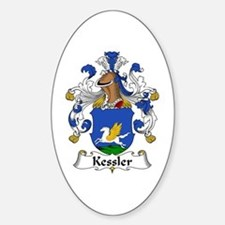 Kessler Sticker (Oval)