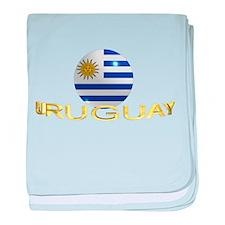 URUGUAY baby blanket