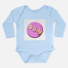 ASL Logo Long Sleeve Infant Bodysuit