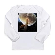 Mushroom Gills Backlit Long Sleeve Infant T-Shirt