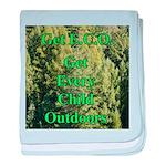 Get ECO Green baby blanket