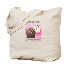 No app for Chocolate Tote Bag