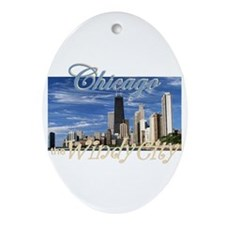 Chicago Ornament (Oval)