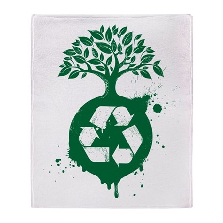 Recycle Throw Blanket
