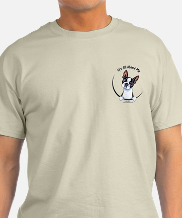 Funny Pocket Boston T-Shirt