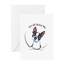 Boston Terrier IAAM Greeting Card