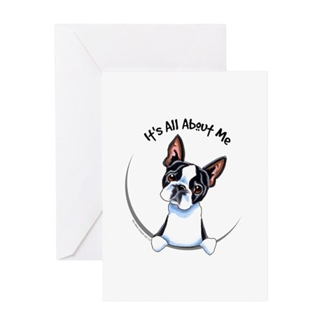 Boston Terrier IAAM Greeting Card
