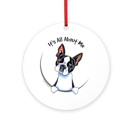 Boston Terrier IAAM Ornament (Round)