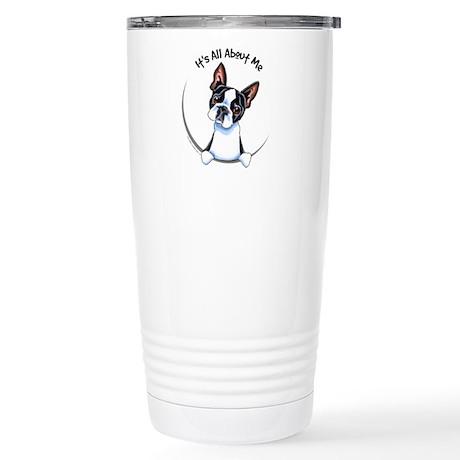 Boston Terrier IAAM Stainless Steel Travel Mug