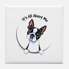 Boston Terrier IAAM Tile Coaster