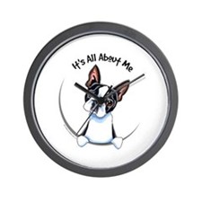 Boston Terrier IAAM Wall Clock
