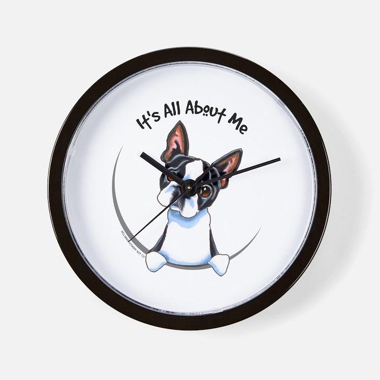 Boston Terrier IAAM Wall Clock