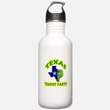 Texas Teapot Party Water Bottle