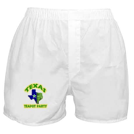 Texas Teapot Party Boxer Shorts