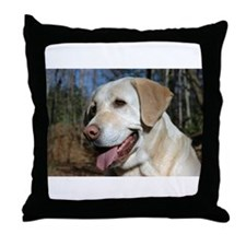 Cute Labrador Throw Pillow