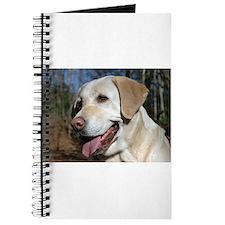 Funny Yellow labrador Journal
