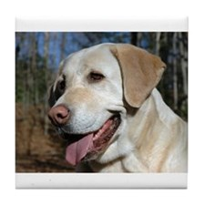 Unique Yellow labrador Tile Coaster