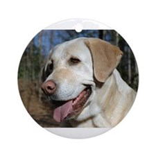 Unique Labrador Ornament (Round)