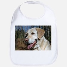 Unique Yellow labrador Bib