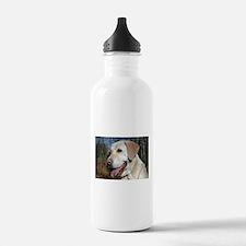 Cute Yellow labrador Water Bottle