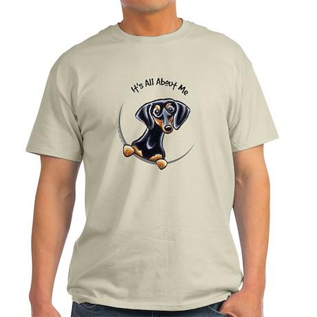 Black Tan Dachshund Light T-Shirt