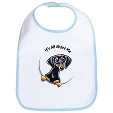 Black Tan Dachshund Bib