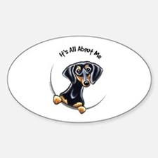 Black Tan Dachshund Decal